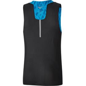 Mizuno Aero - Camiseta sin mangas running Hombre - azul/negro